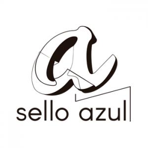 SELLO AZUL